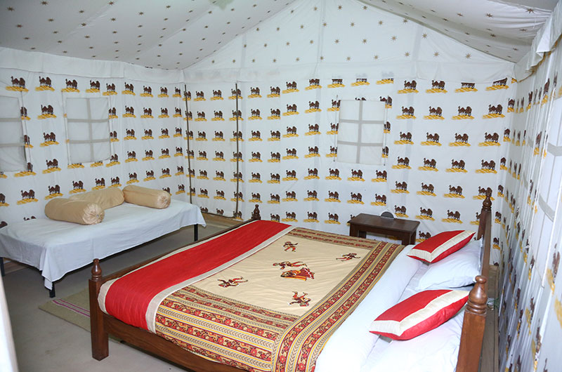 cbest swiss cottage tent in Jaisalmer